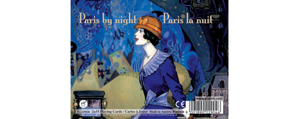 Paris by Night, Double Deck Mother's Day Playing Cards