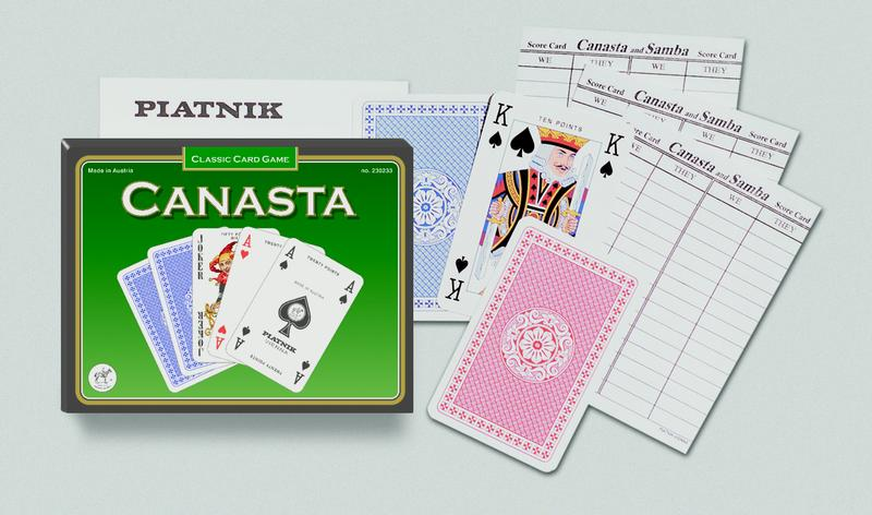 Learn to Play - Canasta Deck (with points)