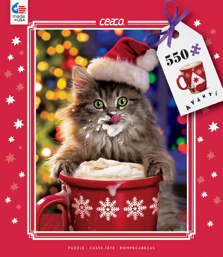 Cocoa Kitty (Holiday Avanti) Jigsaw Puzzle | PuzzleWarehouse.com