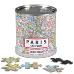 City Magnetic Puzzle Paris Maps / Geography Jigsaw Puzzle