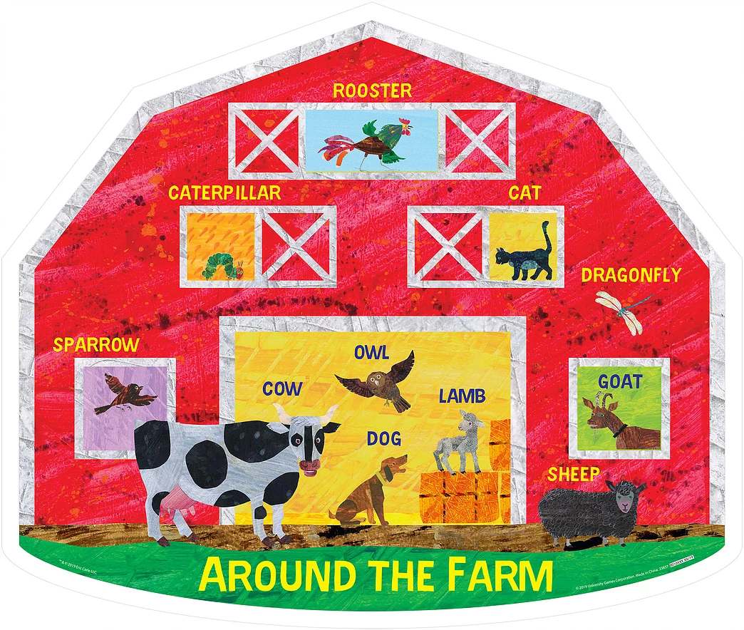 Around The Farm Farm Jigsaw Puzzle