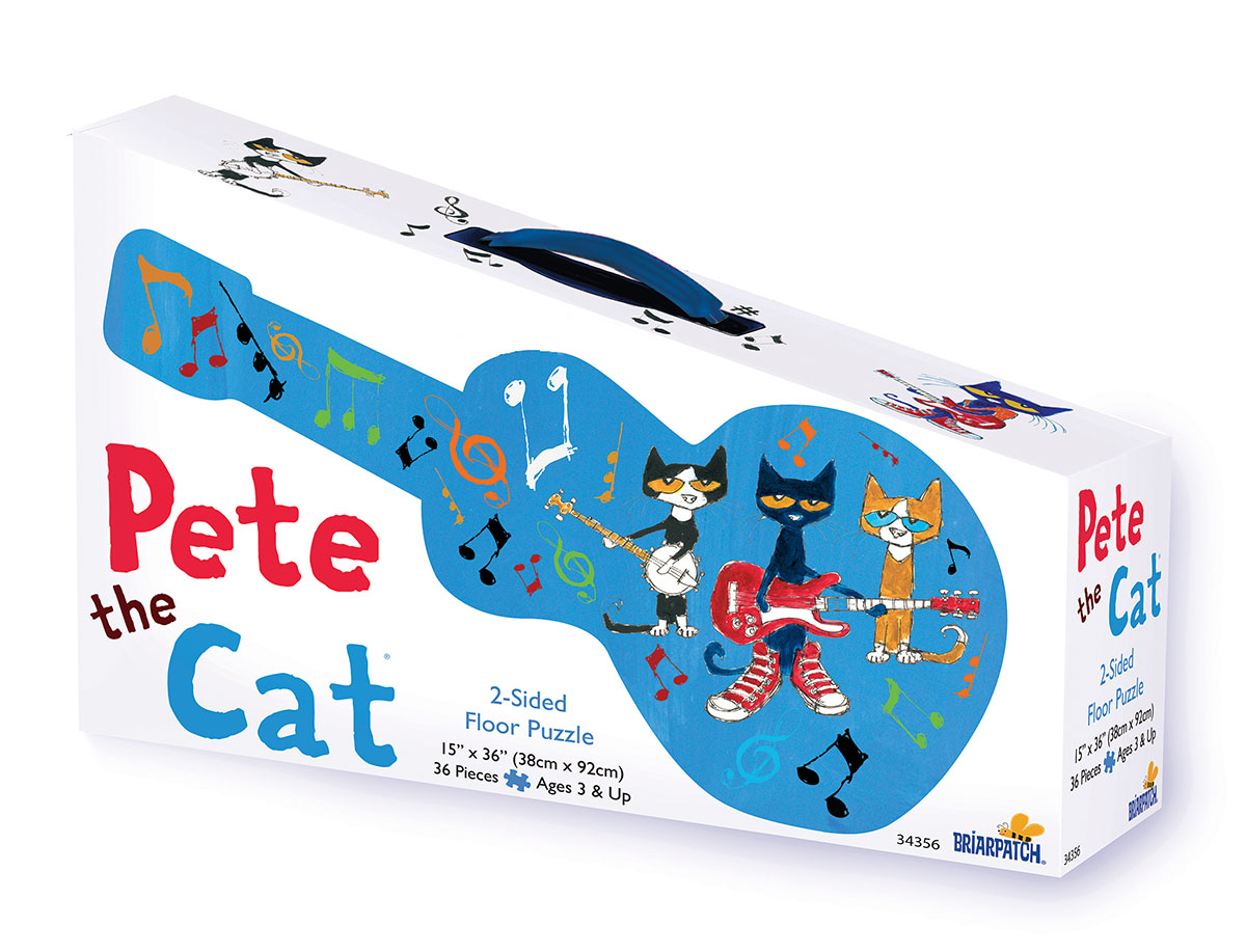 Pete the Cat Double Sided Floor Puzzle Movies / Books / TV Floor Puzzle
