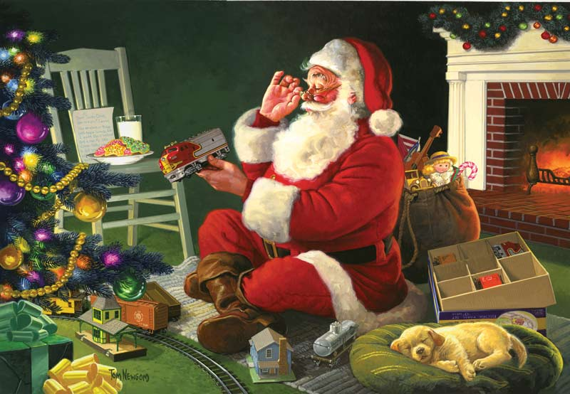 Santa's Favorite Delivery Christmas Jigsaw Puzzle