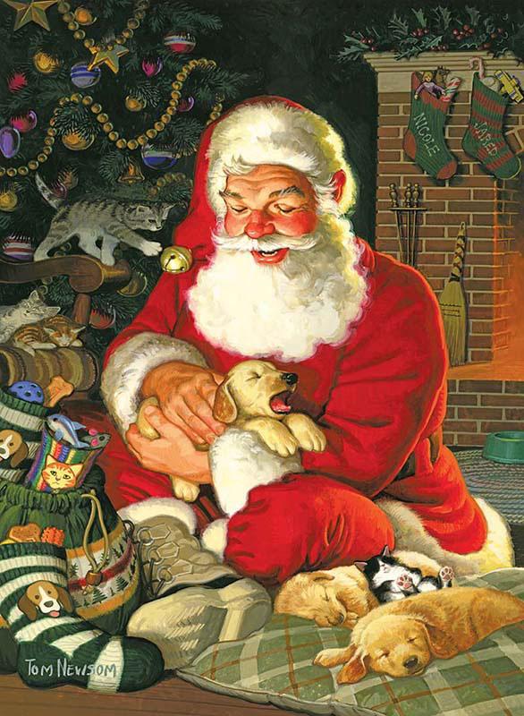 Sleepytime Santa Jigsaw Puzzle