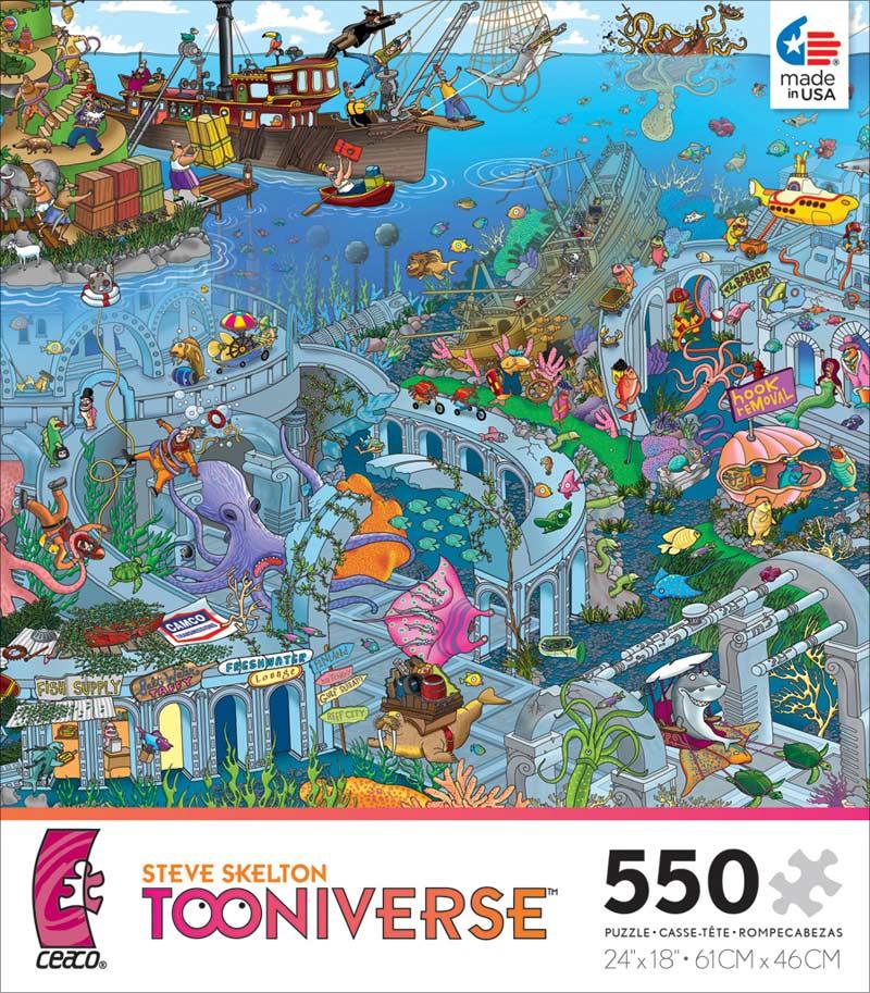 Atlantis Tooniverse Jigsaw Puzzle Puzzlewarehouse Com