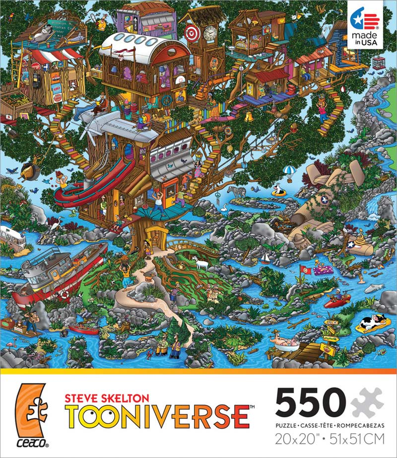 Tooniverse The Tree House Jigsaw Puzzle
