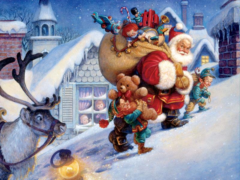 Рождество в германии картинки нарисованные