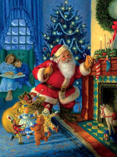 Santa's Magical Toys Jigsaw Puzzle