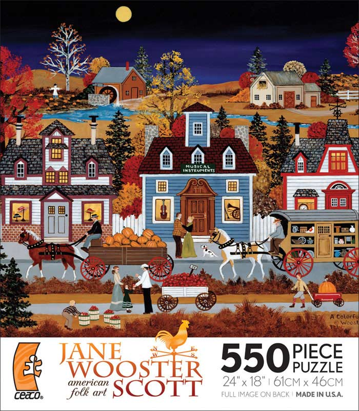 A Colorful Past Fall Jigsaw Puzzle