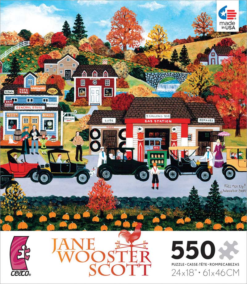 Fill 'ER Up! Fall Jigsaw Puzzle