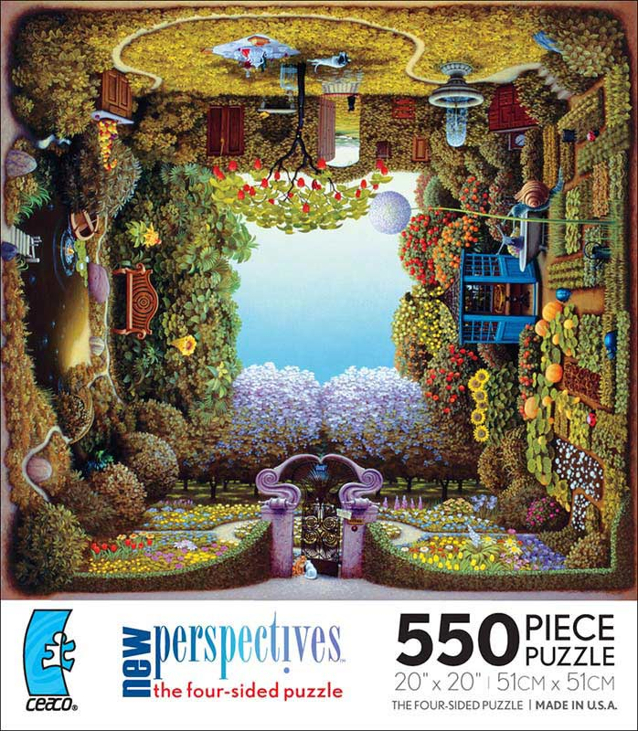 New Perspectives - Chrissy's Gardens Garden Jigsaw Puzzle