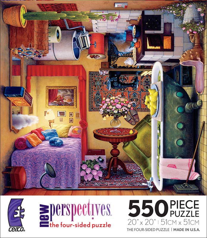 New Perspectives - Boudoir Everyday Objects Jigsaw Puzzle