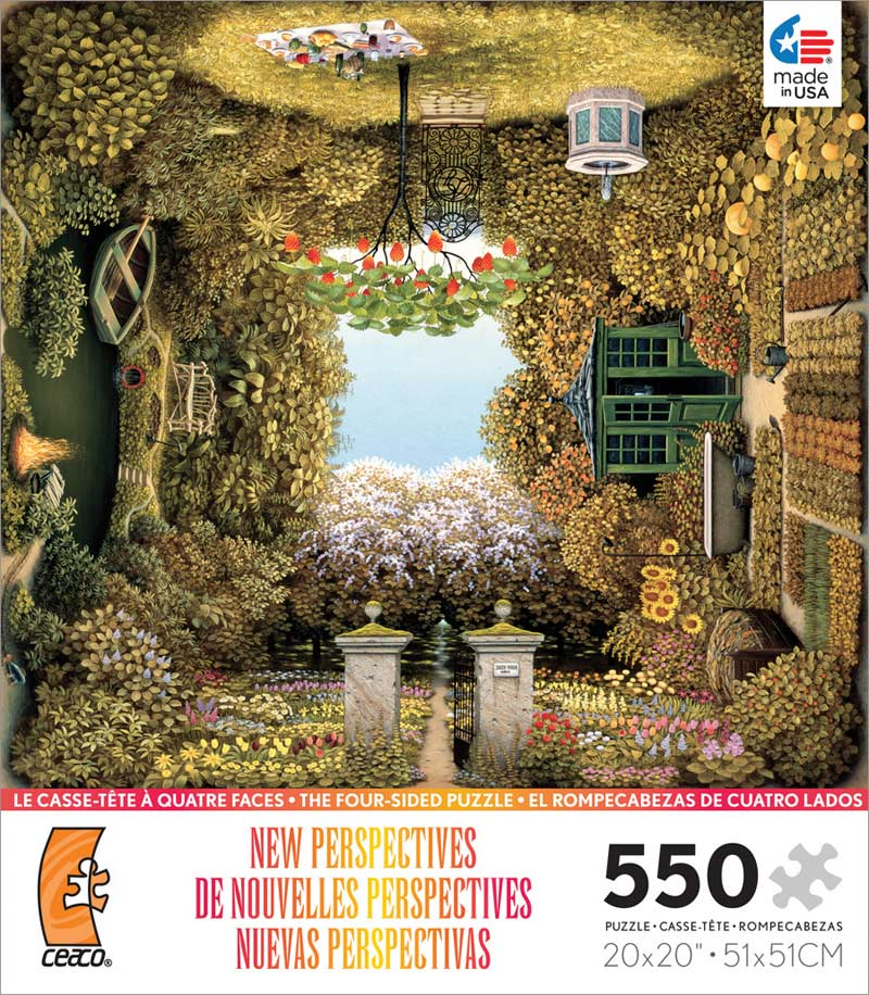 New Perspectives - Gardener's Garden Everyday Objects Jigsaw Puzzle