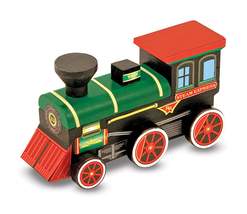 Wooden Train -DYO Trains Arts and Crafts