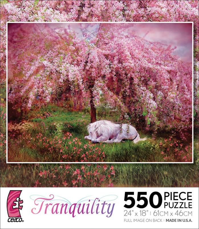 Tranquility - When Unicorns Dream Unicorns Jigsaw Puzzle