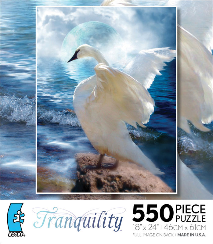 Tranquility - Love Swept Birds Jigsaw Puzzle