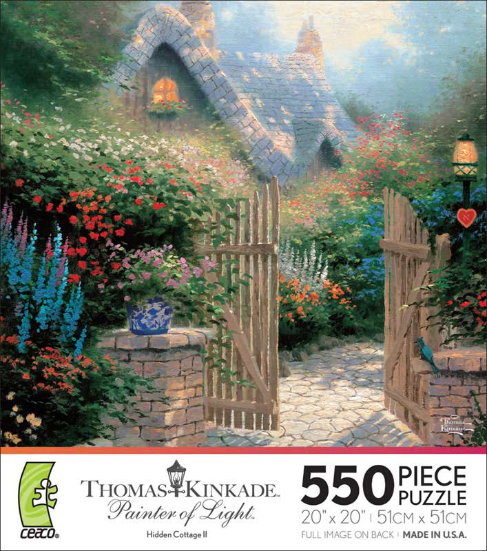 Hidden Cottage II Countryside Jigsaw Puzzle