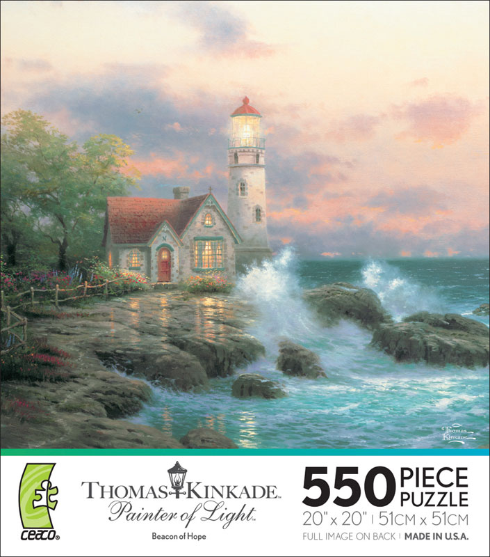 Beacon of Hope Lighthouses Jigsaw Puzzle