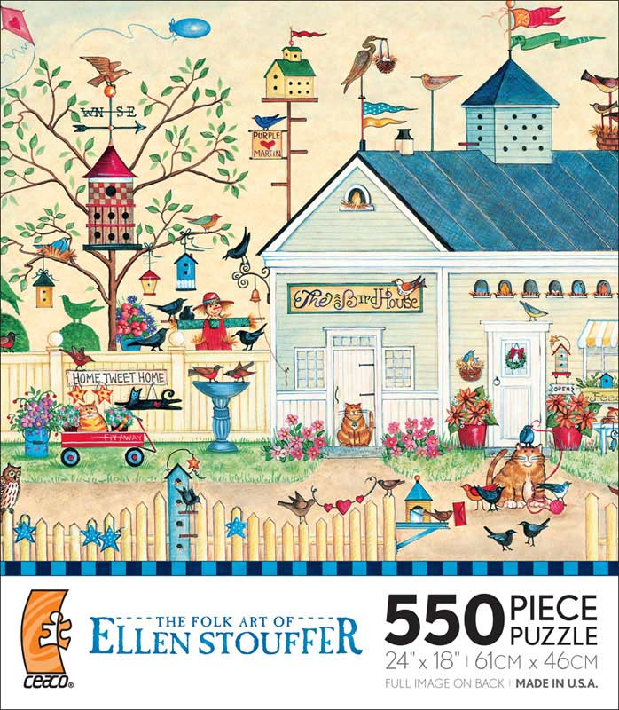 The Bird House Jigsaw Puzzle