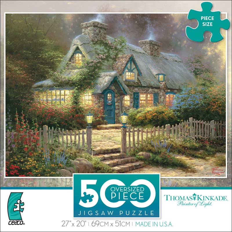 Teacup Cottage Countryside Jigsaw Puzzle