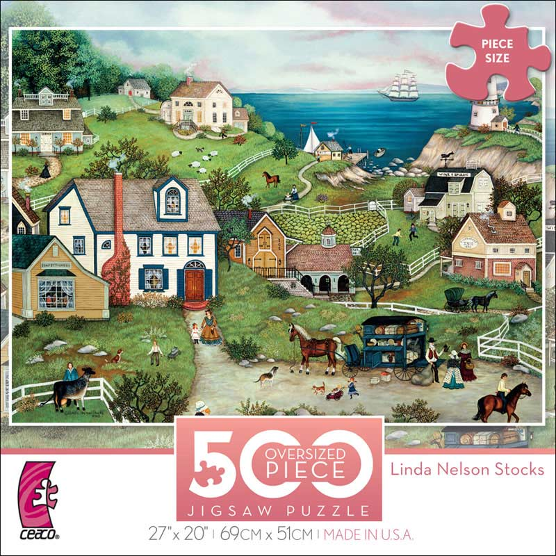 Peddler's Cove Jigsaw Puzzle