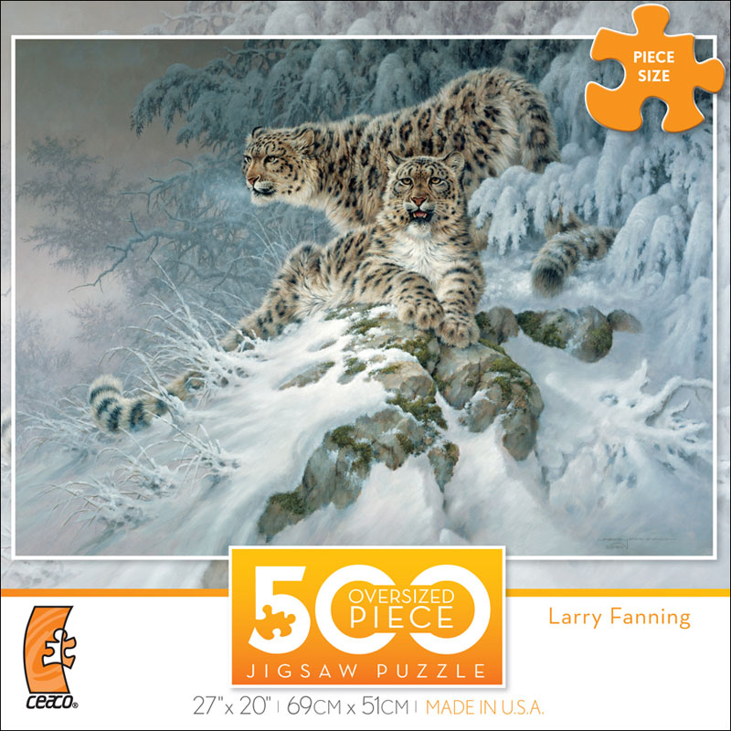 Himalayan Royalty Jungle Animals Jigsaw Puzzle