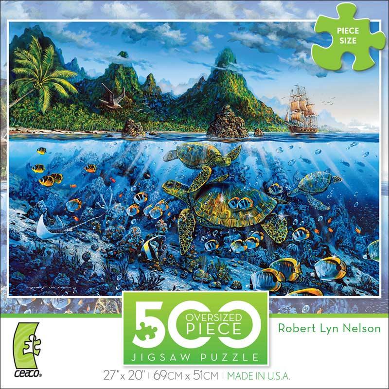 Moorea Rhapsody Under The Sea Jigsaw Puzzle