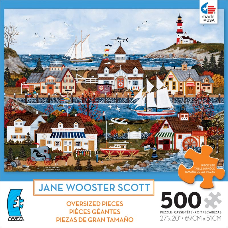 Lure of the Sea (500 Piece Oversized Puzzle) - Scratch and Dent Beach Jigsaw Puzzle