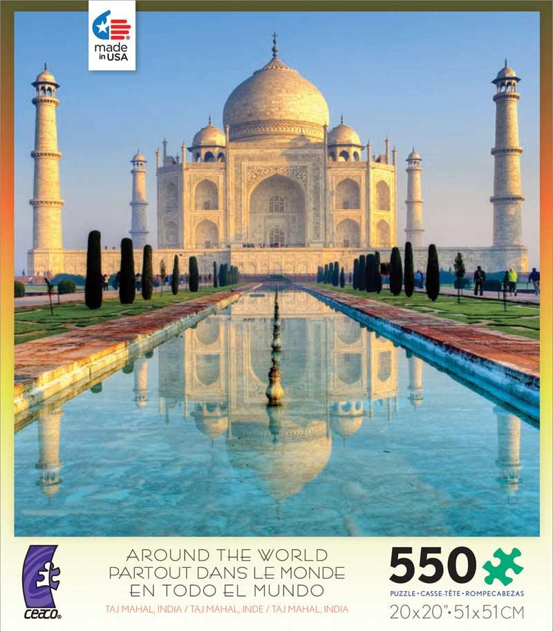 Around the World - Taj Mahal, India Taj Mahal Jigsaw Puzzle