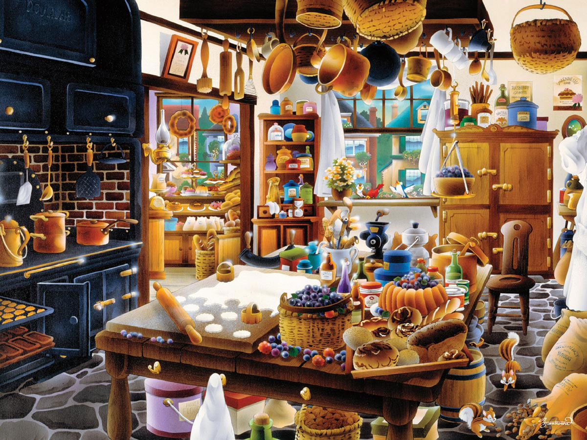The Bakery Weekend Escape Jigsaw Puzzle