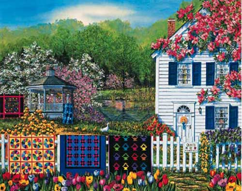 Quilts For Sale Quilting & Crafts Jigsaw Puzzle