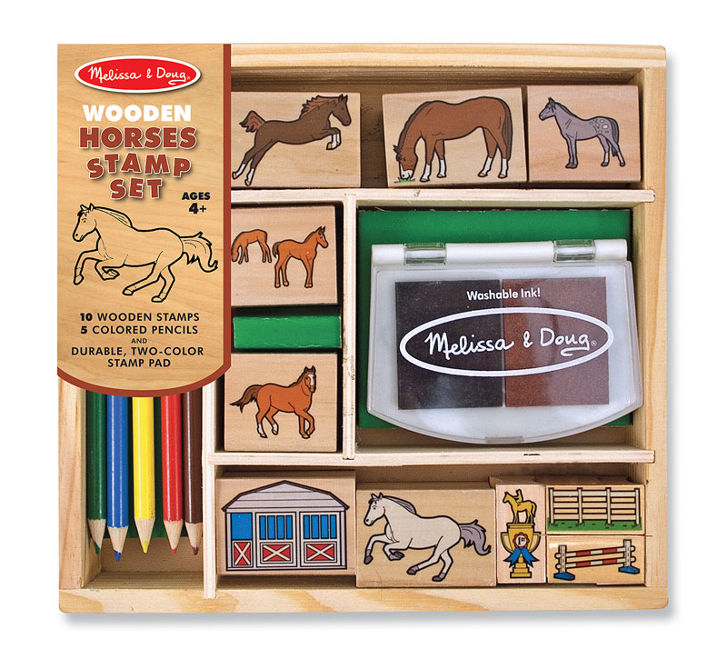 Horses Stamp Set Arts and Crafts