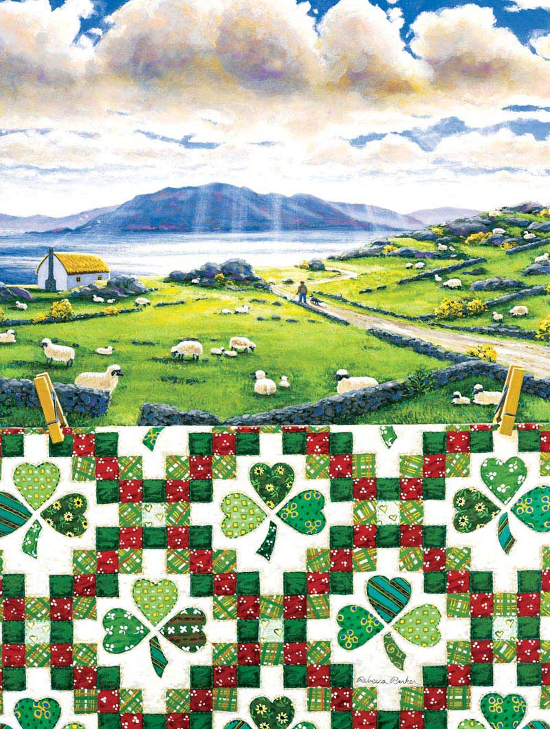 Irish Chain Ireland Jigsaw Puzzle