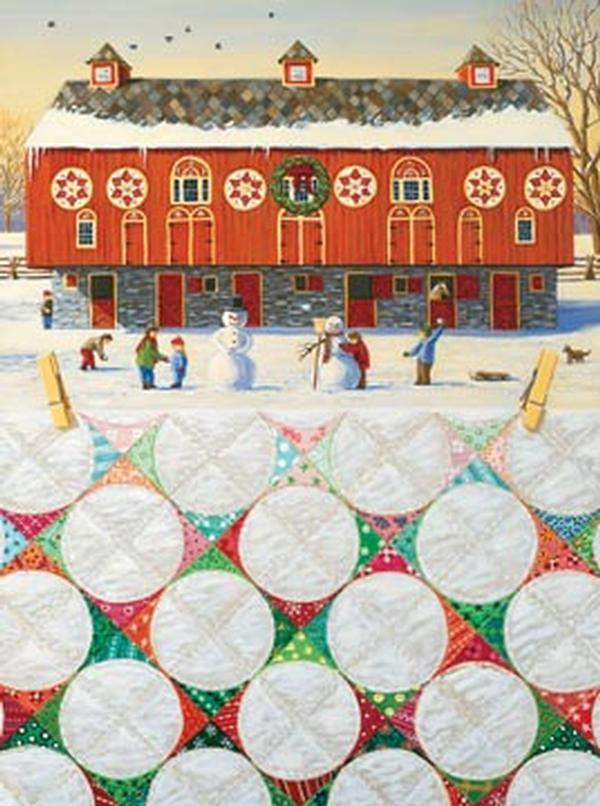 Snowball Winter Jigsaw Puzzle