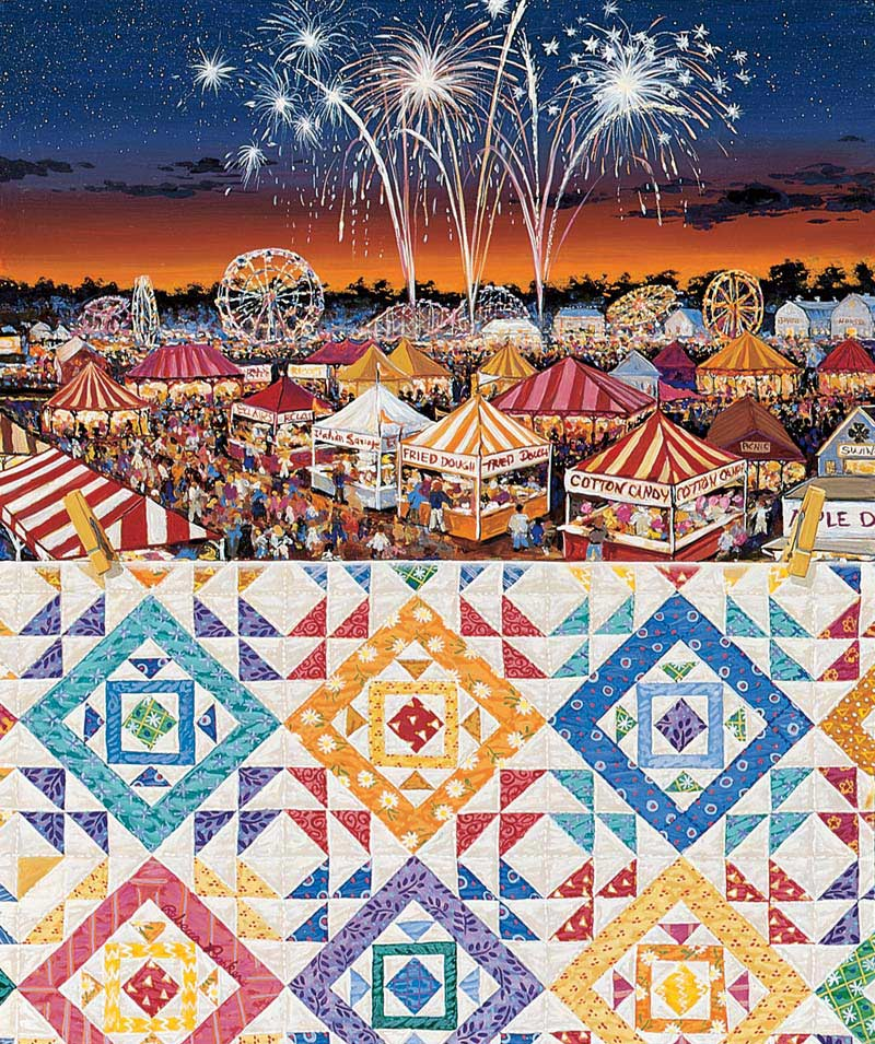 County Fair Jigsaw Puzzle Puzzlewarehouse Com