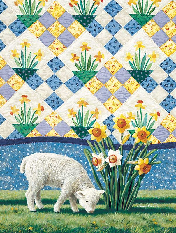 Daffodils Easter Jigsaw Puzzle