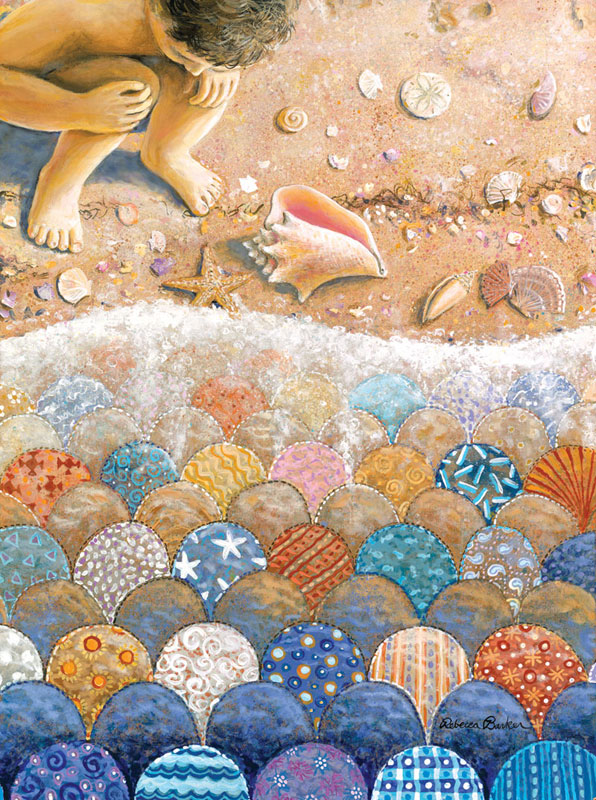 Shells Beach Jigsaw Puzzle