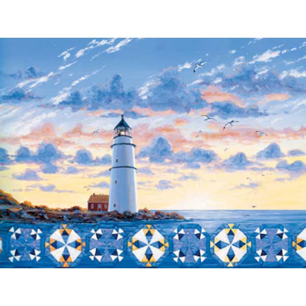 Lighthouse Quilts Quilting & Crafts Jigsaw Puzzle