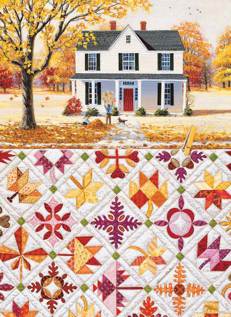 Autumn Leaves Jigsaw Puzzle Puzzlewarehouse Com
