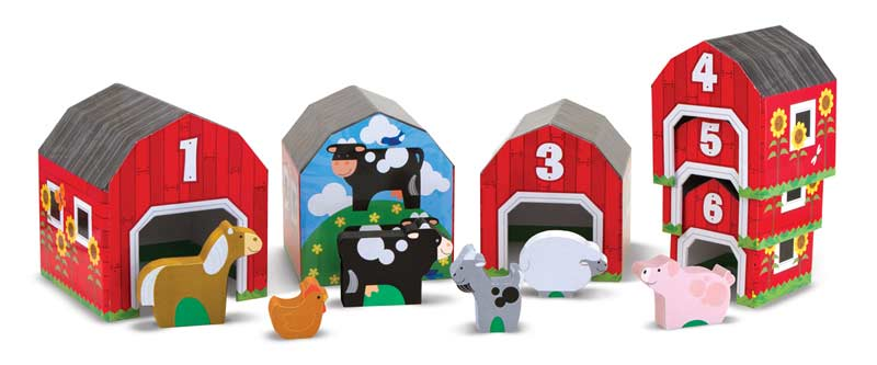 Nesting & Sorting - Barns & Animals Educational Toy