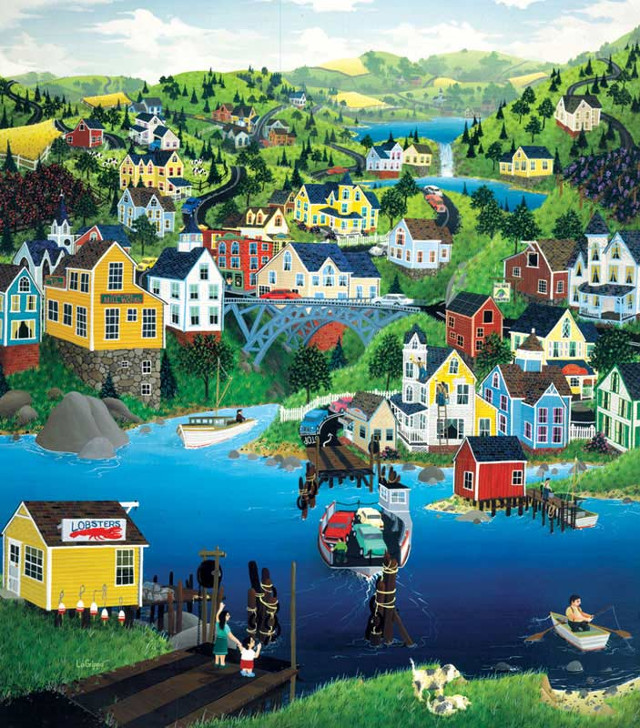Ferry Crossing Jigsaw Puzzle
