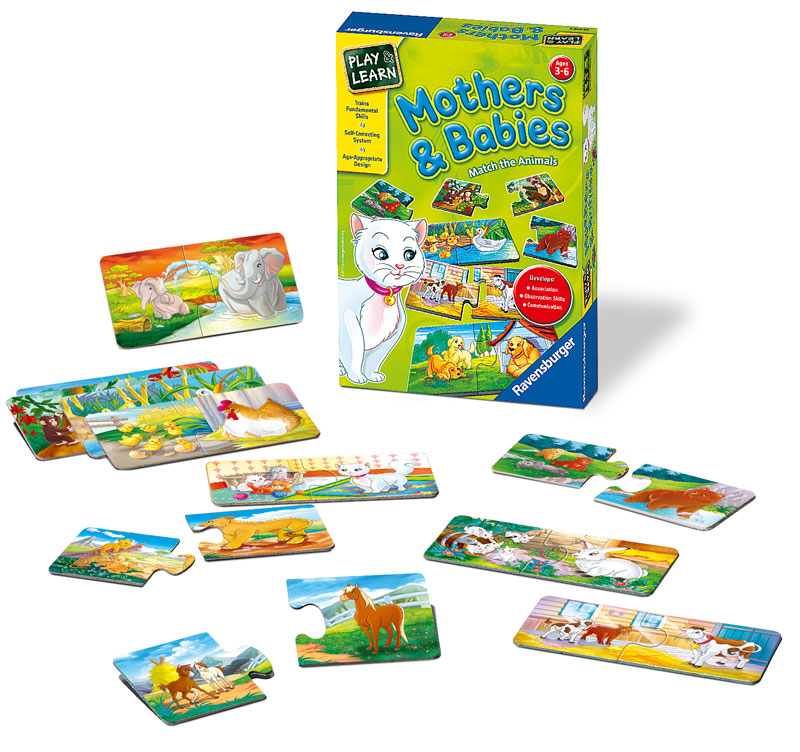 Mothers & Babies Memory Games Card Game