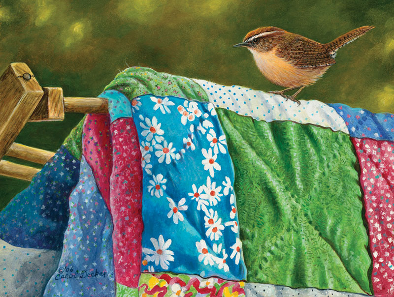 Carolina Wren Quilting & Crafts Jigsaw Puzzle