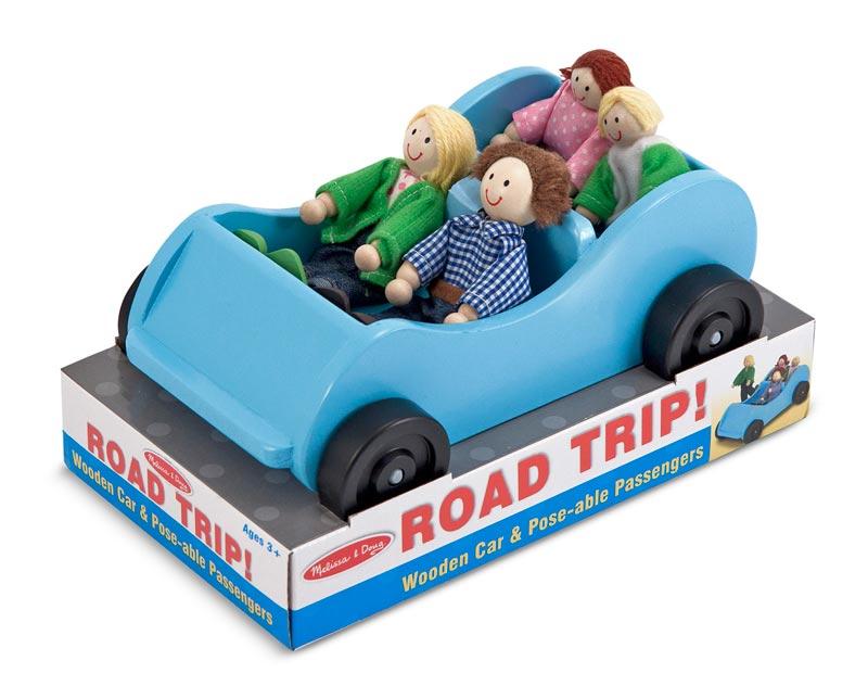 Road Trip! Car & Doll Set Pretend Play Toy
