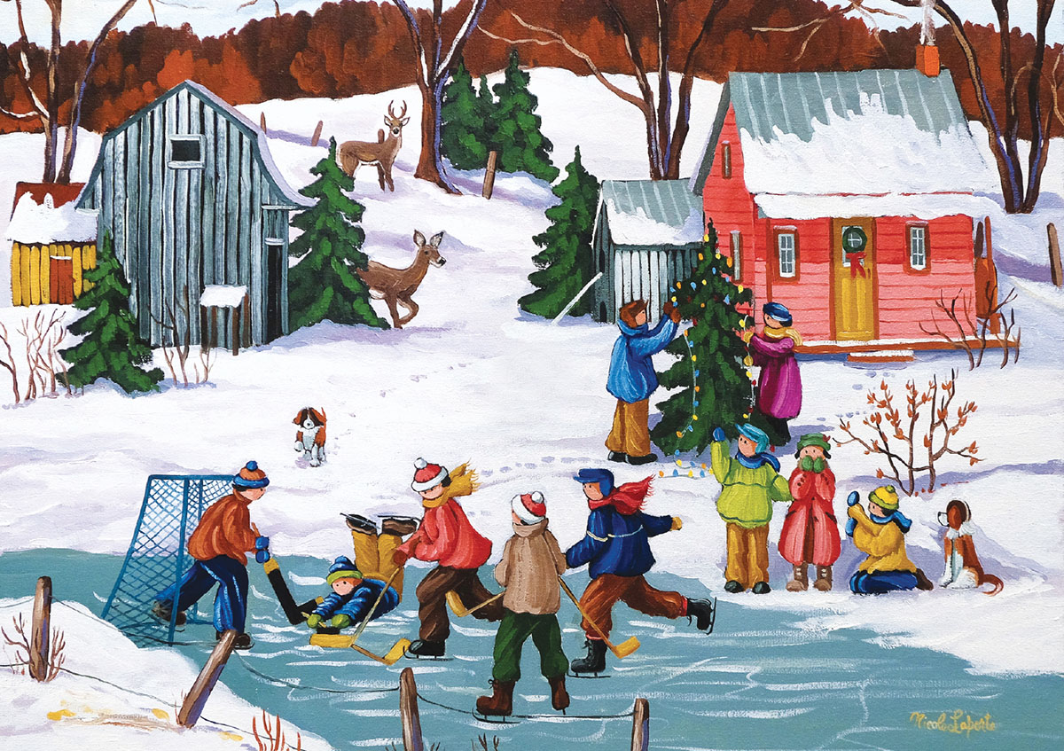 Christmas Holiday - Scratch and Dent Christmas Jigsaw Puzzle