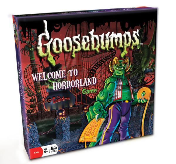 Goosebumps Board Game   PuzzleWarehouse.com