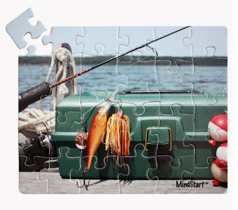Fishing (24pc) Dementia / Alzheimer's Jigsaw Puzzle