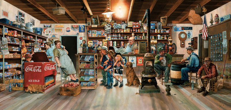 Little Shoppers General Store Jigsaw Puzzle