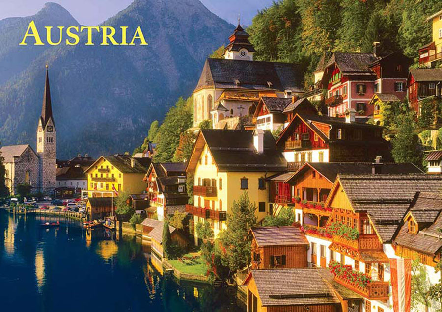 Austria - Travel Series Europe Jigsaw Puzzle