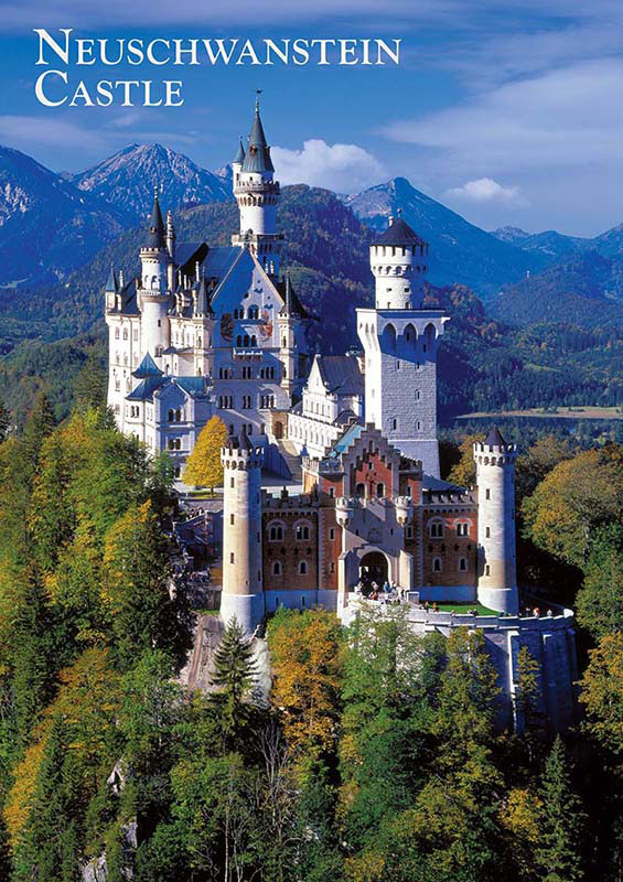 Neuschwanstein Castle - Travel Series Castles Jigsaw Puzzle